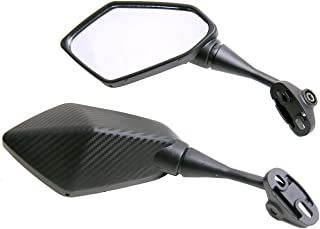 One Pair Carbon Fiber look Sport Bike Mirrors for 2012 Yamaha FZ1