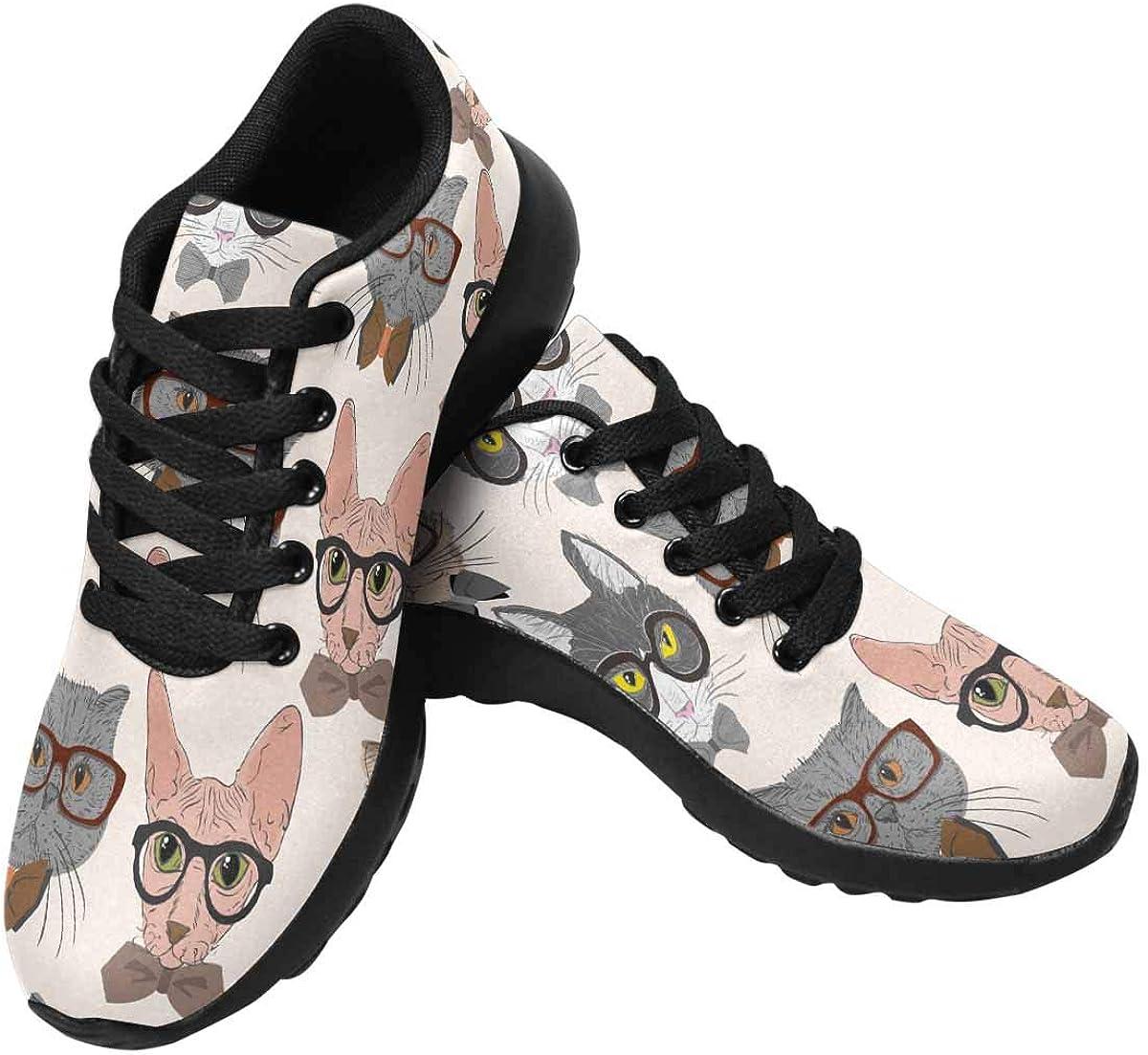 InterestPrint Women's Running Shoes Breatha 買い物 特価品コーナー☆ Non-Slip Lightweight