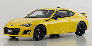 Subaru BRZ GT Yellow Limited Edition to 400 pieces Worldwide 1/18 Model Car by Kyosho KSR 18027 Y