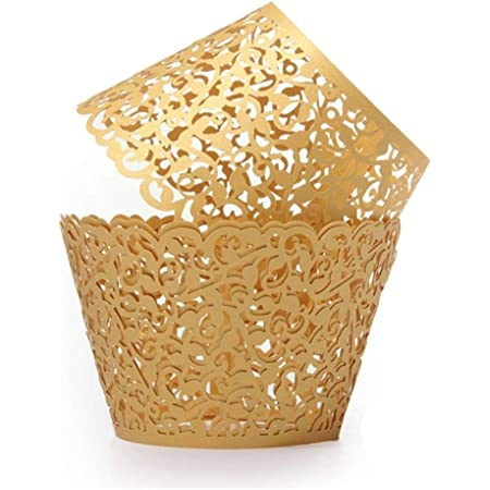 50Pcs Cake Paper Muffin Cupcake Cups Wrapper Liner DIY Party Cake Baking Decor Z