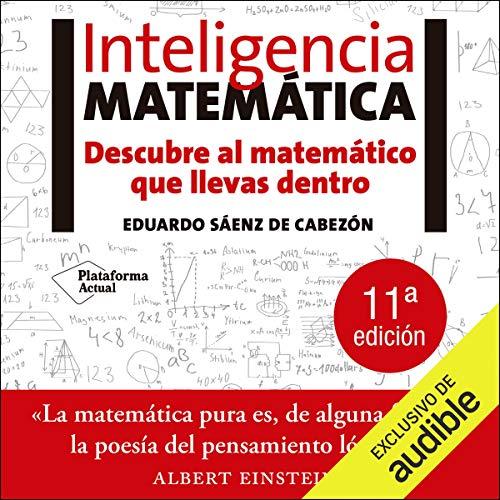 Diseño de la portada del título Inteligencia Matematica