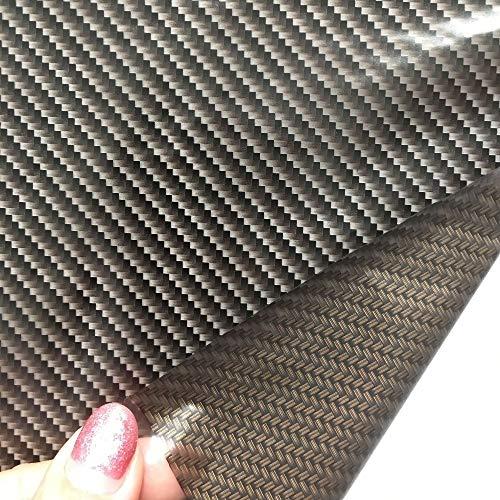 L.J.JZDY Wassertransferfilm 0,5 x 2 m/10 m Carbon Fiber Aqua Print Transfer Printing Graphics Film Water Transfer Printing Film Hydro Dip Film, siehe abbildung, 0.5x2m (1sqm)