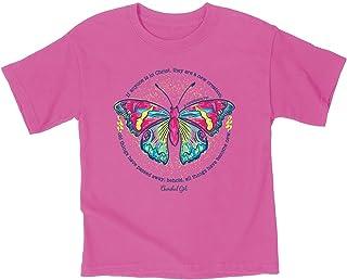 Kerusso Kidz T-Shirt New Creation Safety Pink