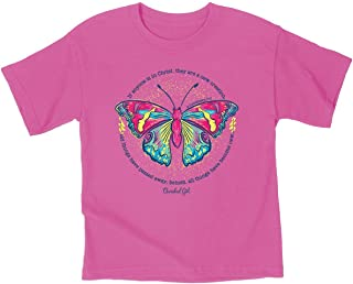 Kerusso Kidz T-Shirt New Creation Safety Pink