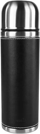 emsa爱慕莎参议员经典系列不锈钢保温杯(黑色真皮0.7L)502435