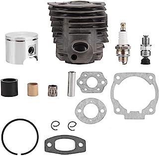 Pistón de cilindro de 46mm con kit de juntas para Husqvarna 50,51,55 Rancher Nikasil Engine
