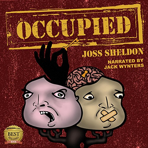 Occupied audiobook cover art