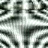 Gardinenstoff Stoff Dekostoff Meterware kariert grün weiß