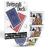 Magic Makers Svengali Deck- Easy Magic Card Trick Kit -...