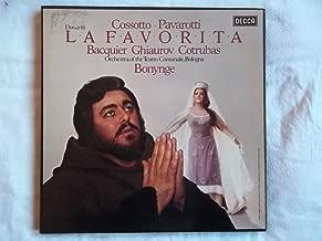 D96D Donizetti La Favorita Teatro Comunale Bologna Bonynge 3 LP box set