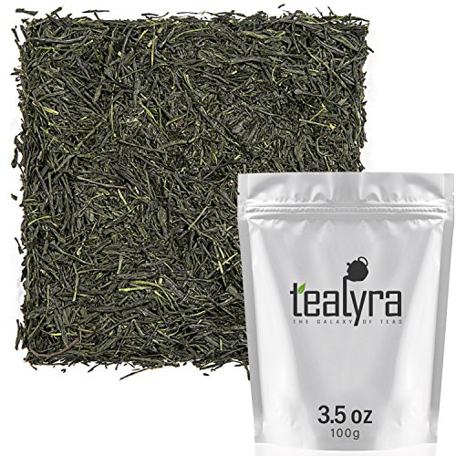 Tealyra - Handmade Premium 1st Flush - Gyokuro Green Tea - Organically Grown in Yame Japan - Loose Leaf Tea - Caffeine Medium - 100g (3.5-ounce)