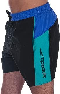 Speedo Mens Sport SPL Swim Shorts in Black Blue