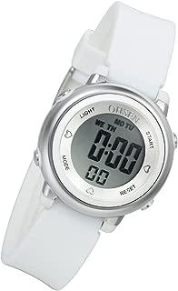 Lancardo Boy's Girl's 50M Waterproof Multi Function Digital Led Traning Sports Outdoor Watch(White)