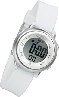 Lancardo Boy's Girl's 50M Waterproof Multi Function Digital Led Traning Sports Outdoor Watch(White)