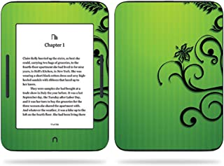 MightySkins Skin Compatible with Barnes & Noble Nook GlowLight 3 (2017) - Floral Flourish | Protective, Durable, and Unique Vinyl Decal wrap Cover | Easy to Apply, Remove | Made in The USA