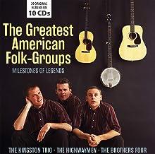 Legendary American Folk Groups (10CD)