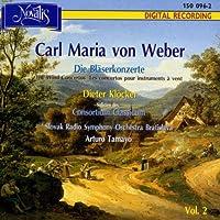 Weber - Wind Concertos, Volume 2