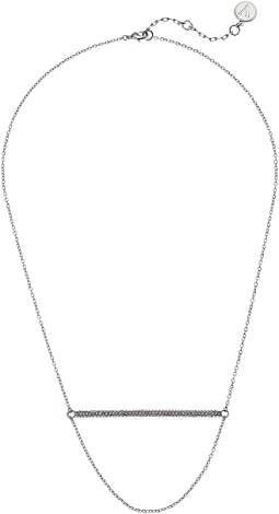 "18"" Pave Bar Necklace"