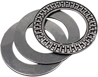 2pcs AXK1024 Thrust Needle Roller Bearing with Two Washers 10 x 24 x 2mm