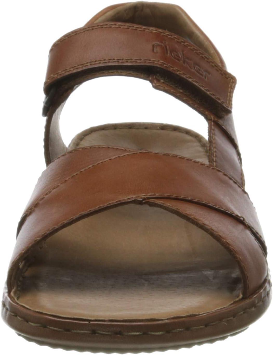 Rieker Frühjahr/Sommer 28963 heren sandalen Braun Peanut 24