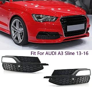 Original Audi s3 8 V Grille anti-brouillard noir brillant Tuning Conversion s3