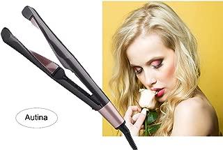 Twist Hair Straightening Iron,2 in 1 Ceramic Professional Hair Curler and Hair Straightener Curling Iron Flat Iron Hair Styler