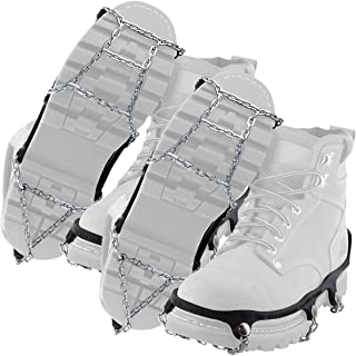 Yaktrax Traction Chains for Walking on Ice and Snow (2 Pair)