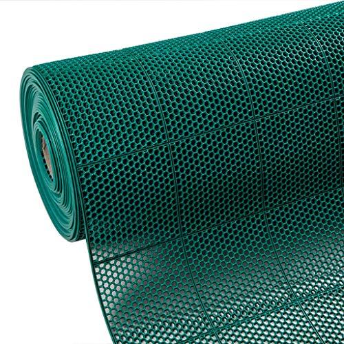 STTHOME Tapis de Bain Antiderapant Tapis de Bain PVC Tapis en Plastique Eau Creuse Salle de Bains Salle de Douche Douche Toilette Tapis de Cuisine Tampon à Huile (Color : #1, Size : 90cm*1m)