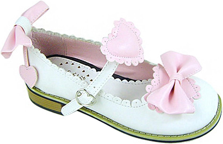 Mtxc Women's Lolita Knot Princess shoes a707 1cm Heel