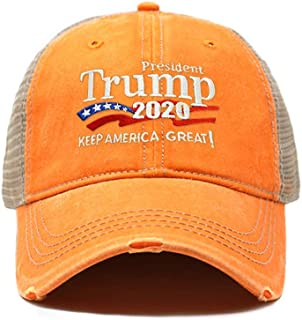 774b4ea6393 ChoKoLids Trump 2020 Keep America Great Campaign Embroidered USA Hat
