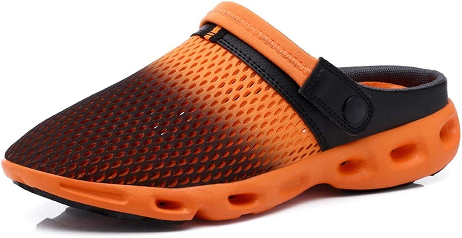 OPPP U Clogs Men'S And Women'S Mesh Sandals And Slippers, Non-Slip Wearable And Comfortable, Breathable Couple Casual shoes Hole Sandals Slippers