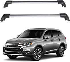 ECCPP Roof Rack Cross Bars Luggage Cargo Carrier Rails Fit for 2013 2014 2015 2016 2017 2018 2019 Mitsubishi Outlander Sport Utility,Aluminum