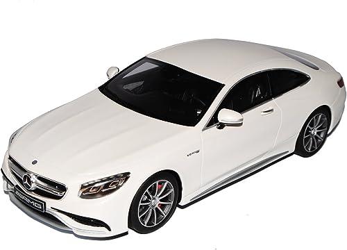 GT Spirit Mercedes-Benz S-Klasse S63 AMG Coupe C217 Diamant Weißs Ab 2014 1 18 Modell Auto