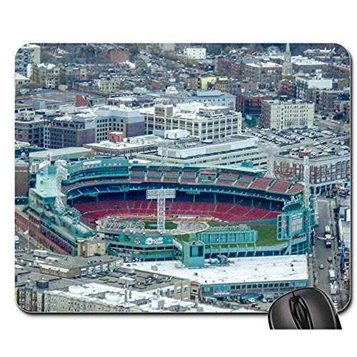 Mouse Pads Fenway Park Boston Massachusetts Red Sox Baseball Game Mat Mouse Pads Mouse Mat Mouse Pad Mousepad 25X30cm