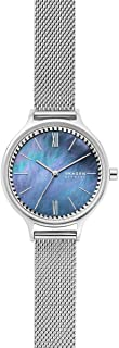 Skagen Anita Women's Mother Of Pearl Dial Stainless Steel Analog Watch - SKW2862