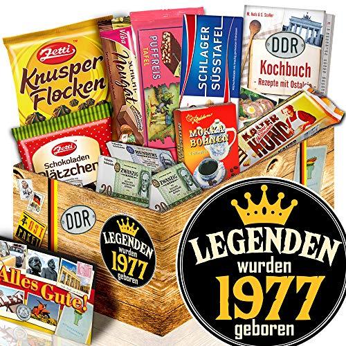 Legenden 1977 / Geburtstagsgeschenke Freundin / Ossi Paket Schokolade
