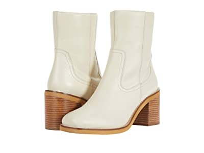 Seychelles Turbulent (Off-White Leather) Women
