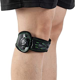 Patella Stabilizer Knee Strap Brace Support for Knee Pain Relief for Hiking, Soccer, Basketball, Running, Jumpers Knee, Tennis, Tendonitis, Volleyball & Squats L