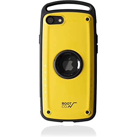 【ROOT CO.】iPhoneSE(第2世代/2020)専用 耐衝撃 ROOT CO. Gravity Shock Resist Case Pro. (イエロー/グロス)米軍MIL規格取得