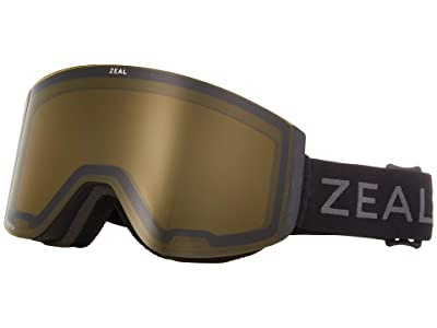 Zeal Optics Hatchet (Dark Night w/ Automatic+ YB + Persimmon Sky Blue Lens) Snow Goggles