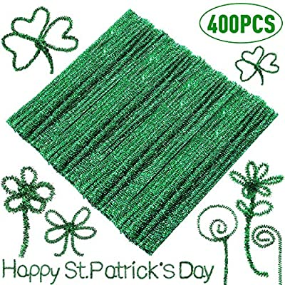 400 Pieces St. Patrick's Day Pipe Cleaners ...
