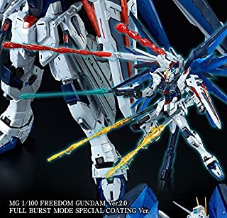 Bandai MG Freedom Gundam Version 2.0 Full Burst Mode Special Coating Ver (Premium Bandai limited sale)