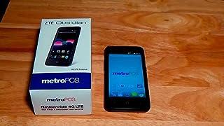 ZTE Z820 Obsidian MetroPCS Smartphone [?] GOOD
