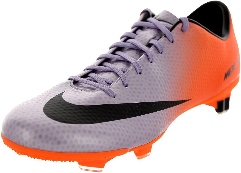 Nike Fuballschuhe Mercurial Veloce FG 555447 508 Orange lila