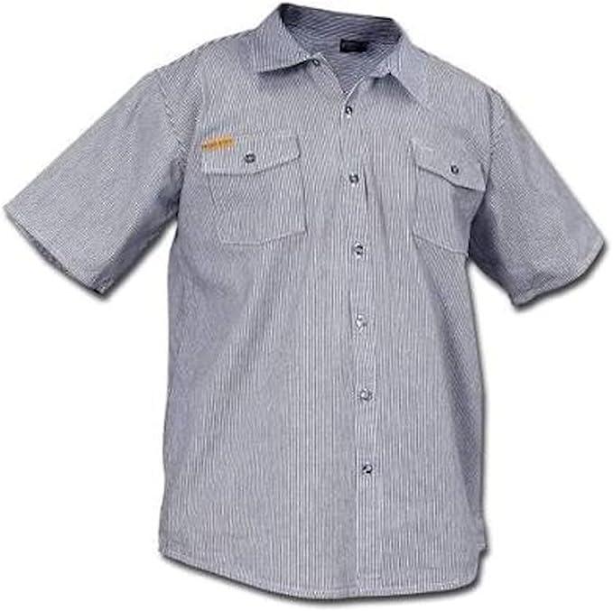 1930s Men's Clothing Prisonblues.net Long Sleeve Hickory Shirt  AT vintagedancer.com