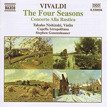 Vivaldi: 4 Seasons (The) / Concerto Alla Rustica