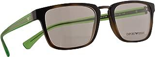 Emporio Armani EA 3108 Eyeglasses 53-19-145 Matte Havana w/Demo Clear Lens 5089 EA3108