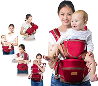 Eight - Position, 360° Ergonomic Baby & Child Carrier ? All Season Multi-Functional Baby Sling with Hip Protection for 0-3...