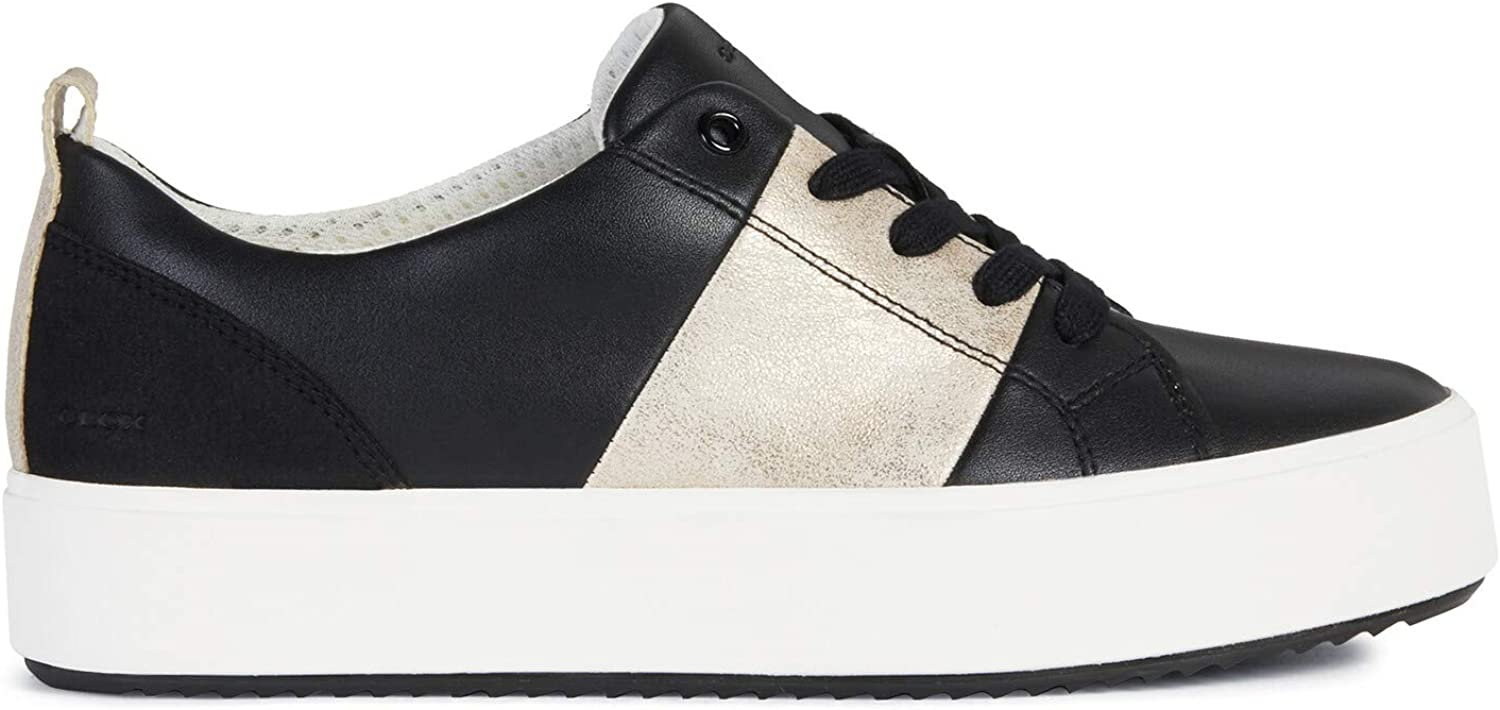 Geox Women's Slip Easy-to-use shop On Trainers