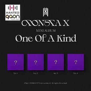 Monsta X - One Of A Kind [Ver. 1+Ver. 2 +Ver. 3 +Ver. 4 Full Set Ver.] (The 9th Mini Album) [Pre Order] 4CD+4Photobook+4Fo...